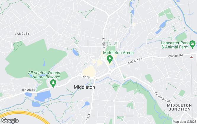 Map for Barton Kendal Residential, Middleton