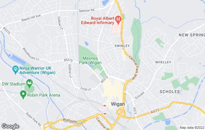 Map for Healy Simpson, Wigan