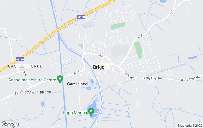 Map for Newton Fallowell, Brigg