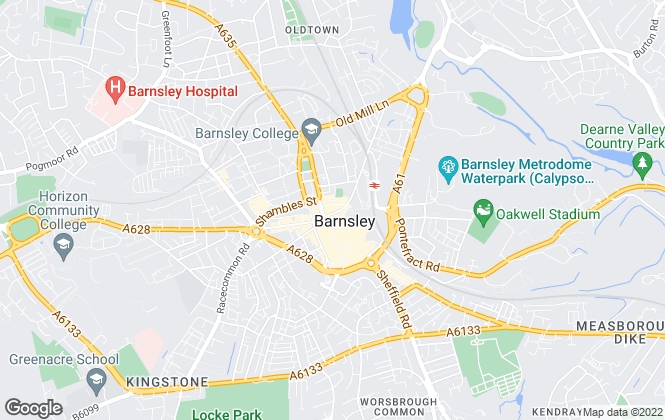 Map for 2let2u, Barnsley