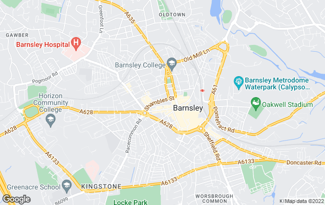 Map for Lancasters Property Services, Barnsley - Lettings