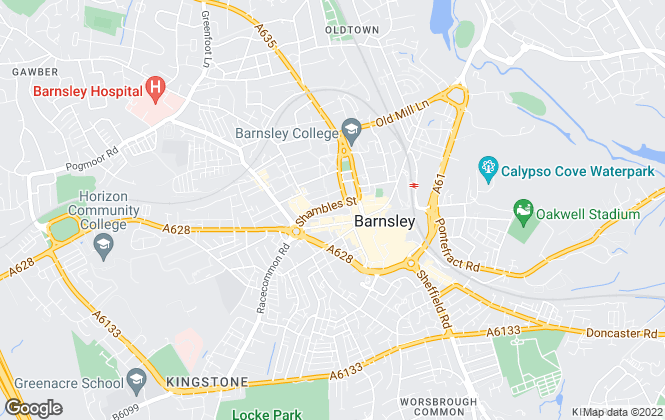 Map for Lancasters Property Services, Barnsley