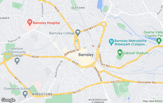 Map for William H. Brown - Lettings, Barnsley Lettings