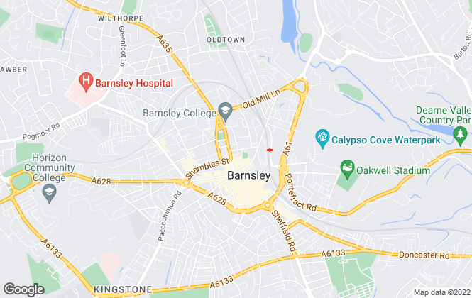 Map for Merryweathers, Barnsley