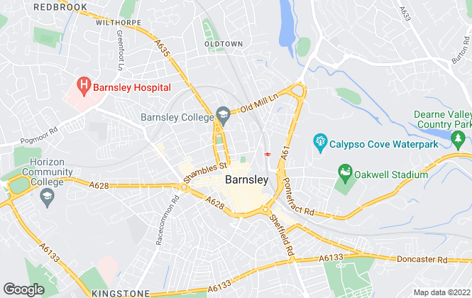 Map for Wilbys , Barnsley