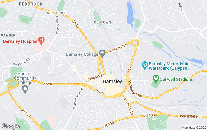 Map for Butcher Residential Ltd, Barnsley
