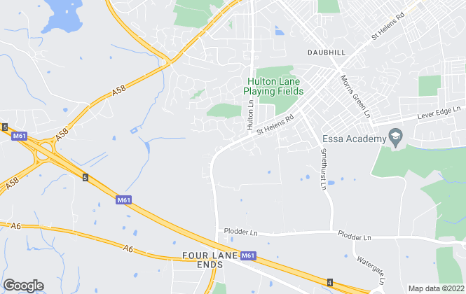 Map for Betty Shum, Bolton