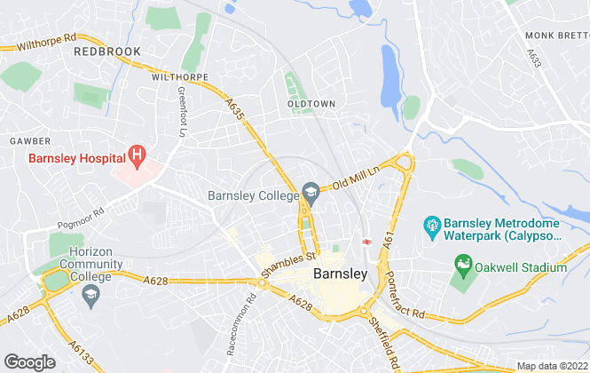 Map for Chris Rowlands & Co, Barnsley