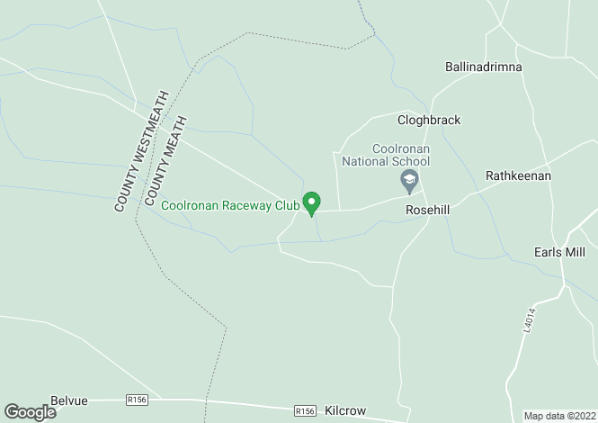 Map for Coolronan, Ballivor, Meath
