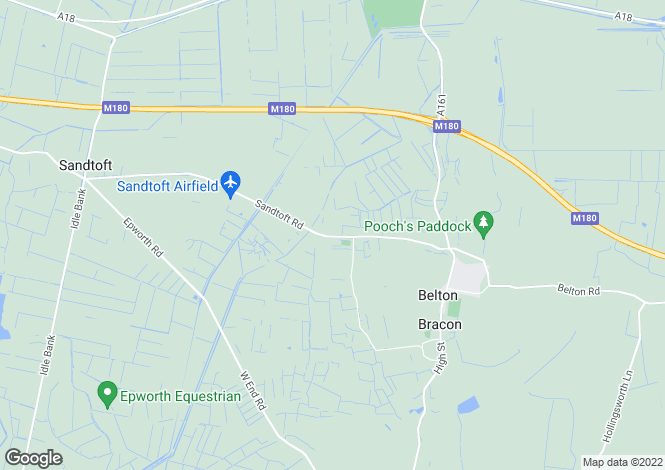 Map for 182 Westgate Road, Belton, Doncaster, Lincolnshire, DN9 1QB