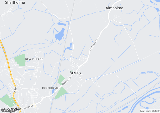 Map for ALMHOLME LANE, ARKSEY, DONCASTER