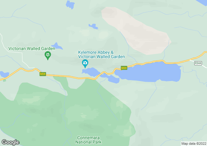 Map for Connemara, Galway