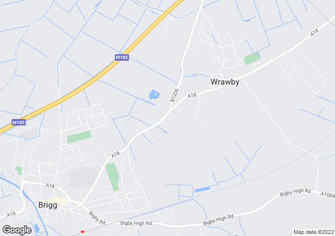 Map for Brigg Road, Wrawby, Brigg, DN20 8RD