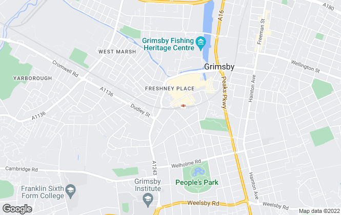 Map for Lovelle Bacons LLP, Grimsby