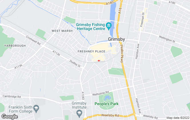 Map for Canters, Grimsby