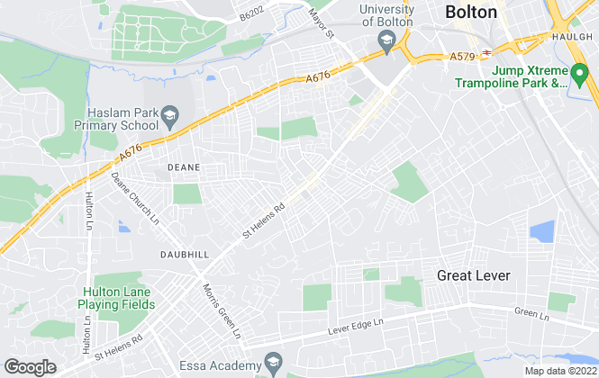 Map for Open House Estate Agents, Bolton
