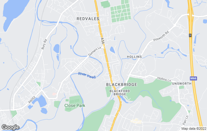 Map for WeLocate, Bury