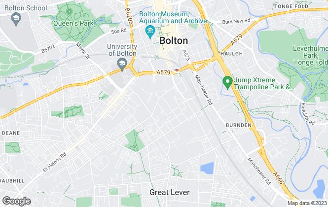 Map for Blackstone Lettings, Bolton
