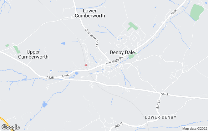 Map for Butcher Residential Ltd, Denby Dale
