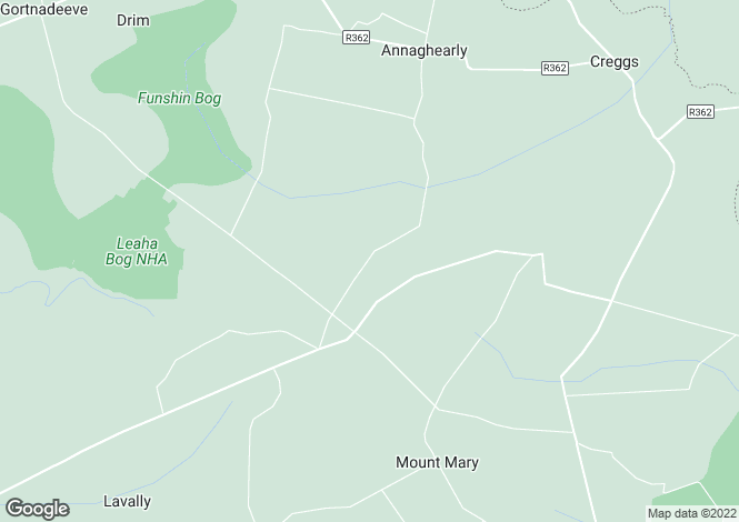 Map for Ballinahowna, Creggs, Galway