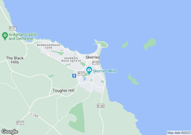Map for 'Sea Park', 40 Church Street, Skerries, County Dublin
