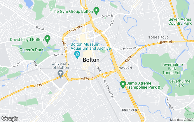 Map for Your Move , Bolton