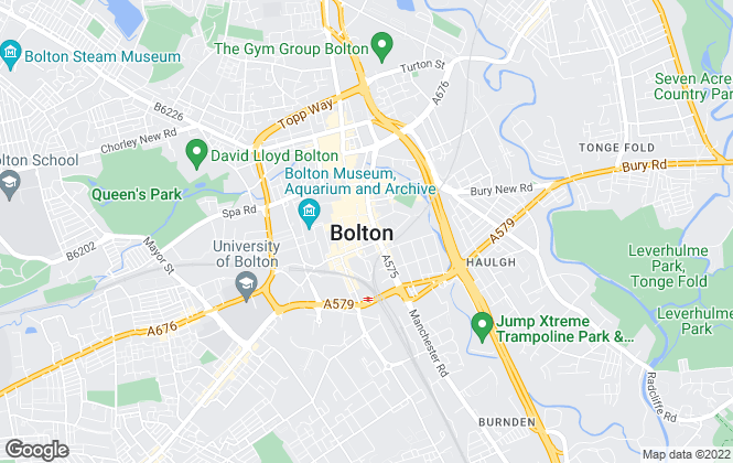 Map for Pearson Ferrier, Bolton