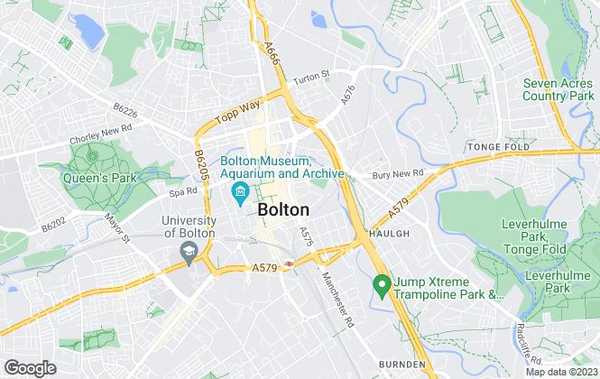 Map for Hilton Smythe, Bolton