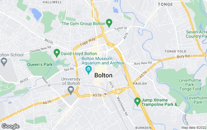 Map for Miller Metcalfe, Bolton
