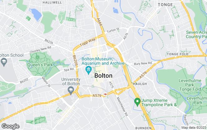 Map for Miller Metcalfe, Bolton
