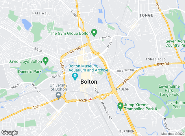 Map for Prime Lettings & Management, Bolton