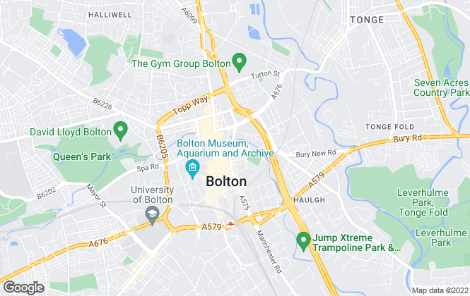 Map for PLM Sales, Bolton