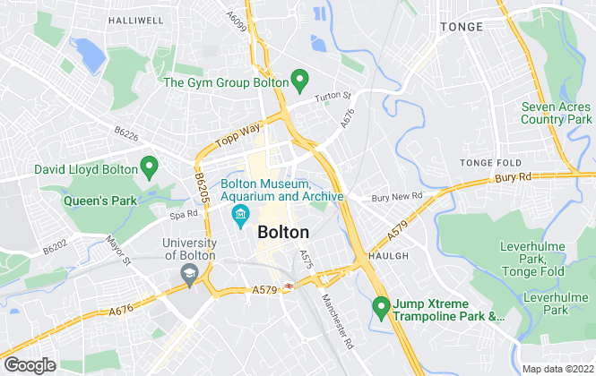 Map for Farrell Heyworth, Bolton
