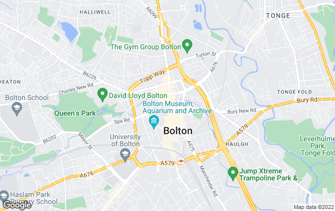 Map for Entwistle Green, Bolton