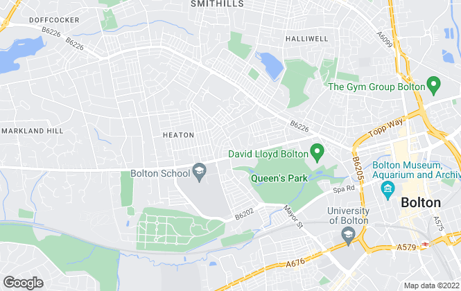 Map for Bolton Property Lettings, Bolton