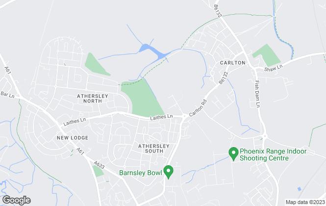 Map for Sorbys, Barnsley