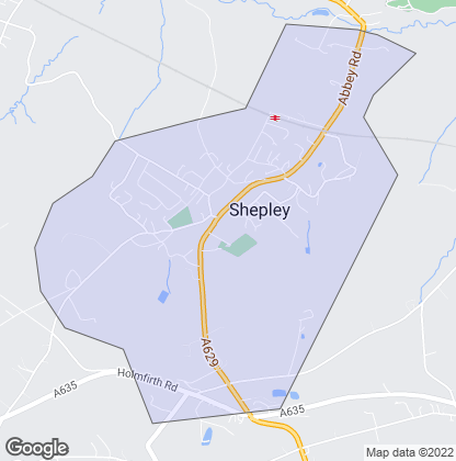 Map of property in Shepley