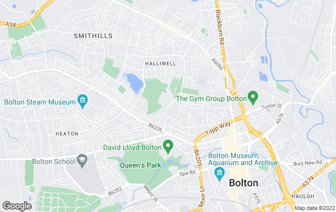 Map for Meridian Business Sales Ltd, Bolton