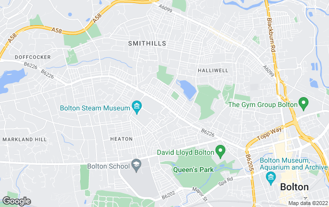 Map for Holmes Sales & Lettings, Bolton