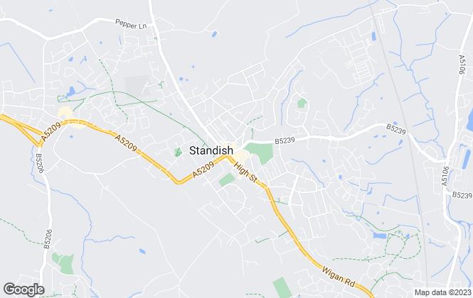 Map for Winnard & Brown, Wigan