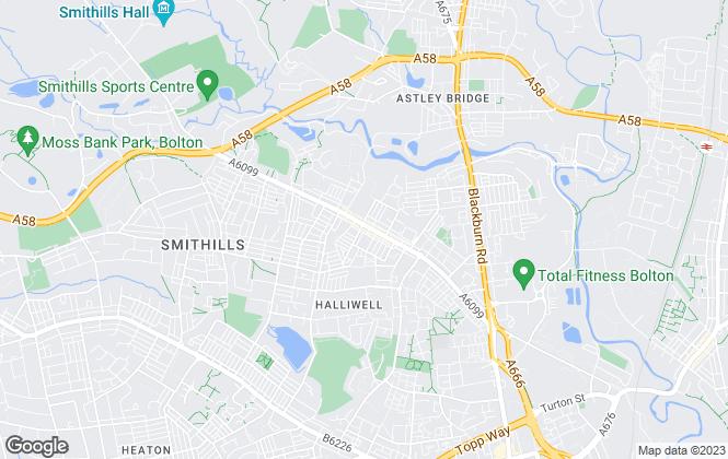 Map for Manhattan Estates, Bolton