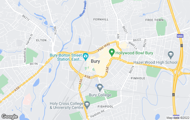 Map for Your Move , Bury