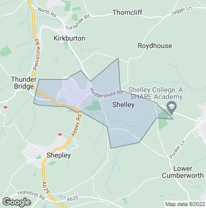 Map of property in Shelley