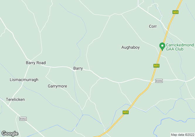 Map for Barry, Longford