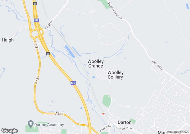 Map for Maydal Drive, Woolley Grange, Barnsley, S75