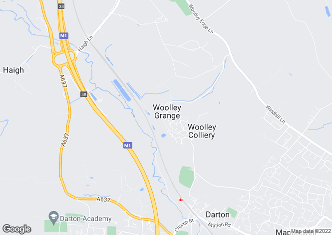Map for Maydal Drive, Woolley Grange