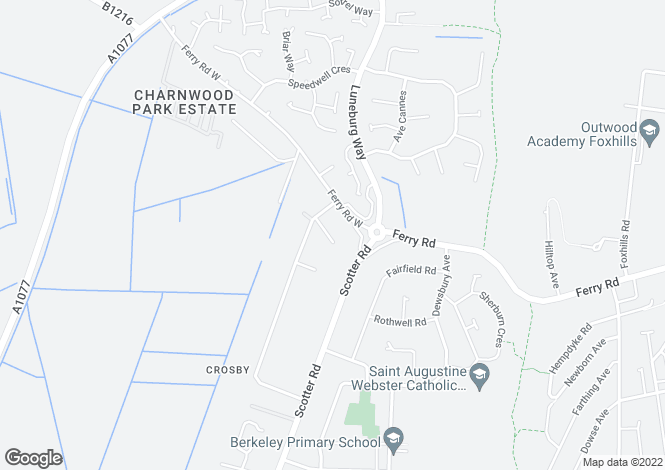 Map for Shelroy Close, SCUNTHORPE, Lincolnshire