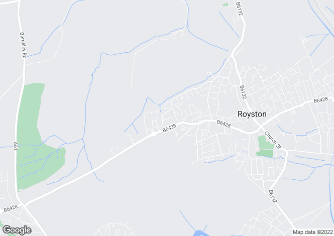 Map for Applehaigh Grove, Royston