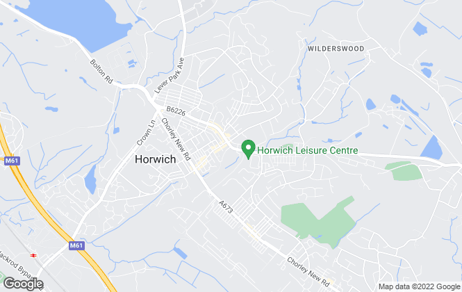 Map for Crowley Estates, Horwich