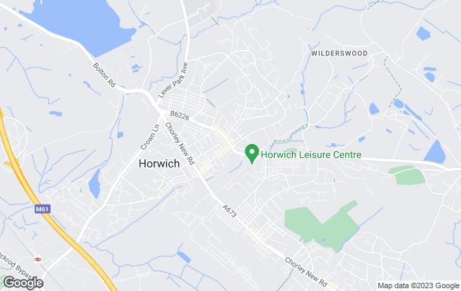 Map for Regency Estates, Horwich